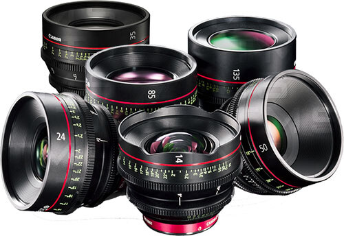 Canon Cinema Lens Set