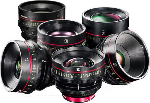 Canon Cinema Lens Set