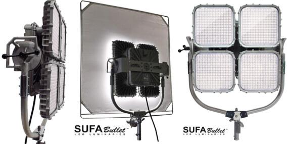 Sufa Bullet 6k LED Panels x 2